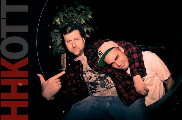 DJ So Nice and Atherton, the hosts of Hip Hop Karaoke Ottawa